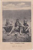 POSTCARD AFRICA - ANGOLA -  CARREGADORES GINGAS - Angola