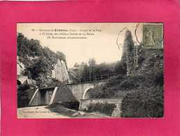 38 Isère, Environs De Crémieu, Gorges De La Fusa, (Grottes De La Balme) - Crémieu