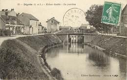 - Dpts Div.-ref-ZZ691- Saone Et Loire - Digoin - Ecluse Double - La Jonction - Ecluses Doubles - Canal - Canaux - - Digoin