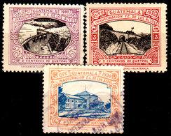 Guatemala-0103 - Emissione 1930 (+/o) Hinged/Used - - Guatemala