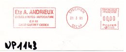 CREUSE - Dépt N° 23 = GUERET 1991 = EMA  SPECIMEN SECAP = ' MOTOCULTURE ANDRIEUX ' - EMA (Print Machine)
