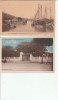 Lot 2 CPA Viet Nam Hanoi Monument Jean Dupuis, Kha Nhoi Les Pecheurs De Pleine Mer Non Circulées - Viêt-Nam