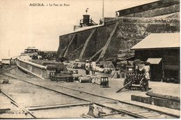 Ghana. Accra.  Le Feu De Port - Ghana - Gold Coast