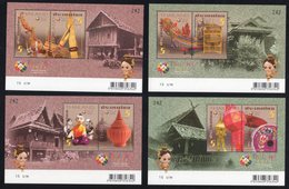 Thailand 2012 - SS Thailand 2013 World Stamp Exhibition (1st Series) - Thai Folks Arts And Crafts - Thailand