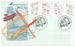 (760) Australia FDC Cover - Aviation Feats- 1994 - Transport