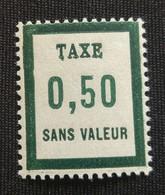France Fictifs  Taxe Neuf N° 13 - Fictifs