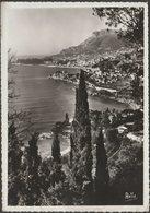 Vu De Roquebrune, Monte Carlo, 1938 - Rella Photo CPSM - Monte-Carlo