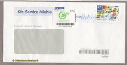 Privatpost - Arriva / Südmail - Gel. Umschlag Mit Label M / Standartmarke - BRD