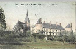 18   Argent Sur Sauldre  Le Château - Châteaux D'eau & éoliennes