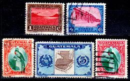 Guatemala-0107 - Emissione 1935-36 (sg/o) NG/Used - - Guatemala