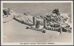 The Minack Theatre, Porthcurno, Cornwall, C.1940s - RP Postcard - Other