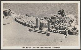 The Minack Theatre, Porthcurno, Cornwall, C.1940s - RP Postcard - England