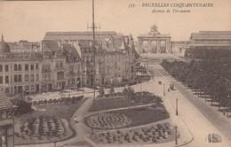 BRUXELLES / BRUSSEL / AVENUE DE TERVUREN VERS LE CINQUANTENAIRE - Lanen, Boulevards