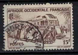 A . O . F         N°  YVERT    40   ( 4 )    OBLITERE       ( O   3/24 ) - A.E.F. (1936-1958)