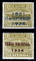 Guatemala-0108 - Emissione 1936 (+) LH - - Guatemala