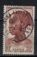 A . O . F         N°  YVERT    41    ( 4 )       OBLITERE       ( O   3/24 ) - A.E.F. (1936-1958)