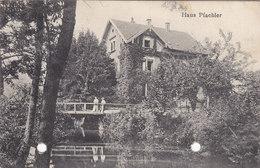 Cpa Ak Pk Haus Pfaehler Offenburg Allemagne Germany ( 2 Trous Dans La Carte ) 1911 - Offenburg