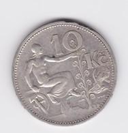 10 Korun 1931 République Tchécoslovaque  TTB - Tchécoslovaquie