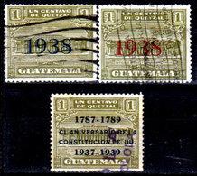 Guatemala-0110 - Emissione 1938 (o) Used - - Guatemala