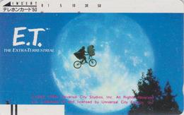 Télécarte  Ancienne Japon / 330-2129 - CINEMA - E.T. ET - Movie Japan Front Bar Phonecard - Kino - E 10240 - Cinema