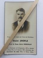 GENAPPE BAISY-THY «SOUVENIR DÉSIRÉ JIROFLE Né En 1879 Décédé à BAISY-THY 1949. - Genappe