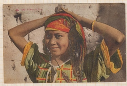 8AK1232 AFRIQUE FILLETTE DU SUD 2 SCANS - Postcards