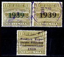 Guatemala-0111 - Emissione 1938-1939 (o) Used - - Guatemala