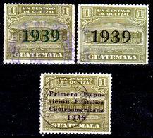 Guatemala-0112 - Emissione 1938-1939 (o) Used - - Guatemala