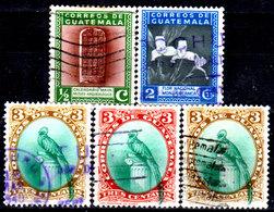 Guatemala-0113 - Emissione 1939 (o) Used - - Guatemala