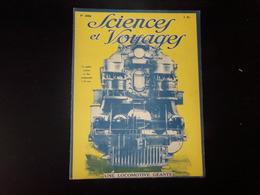 """Sciences Et Voyages N° 359, Juillet 1926, """" Une Locomotive Géante """" - 1900 - 1949"""