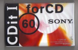 Cassetta Audio Vergine Sony C-60CDIT1B 60 Min - Cassette