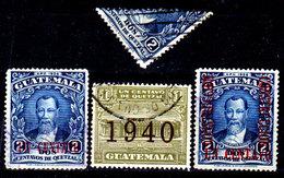 Guatemala-0114 - Emissione 1940-1941 (o) Used - - Guatemala