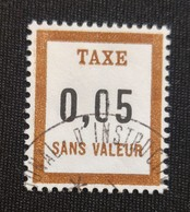 France Fictifs  Taxe Oblitéré N° 25 - Fictie