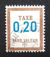 France Fictifs  Taxe Oblitéré N° 29 - Fictie