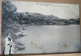LAGO DI LAZIN , ANIMATA VIAGGIATA 1909 - Altre Città
