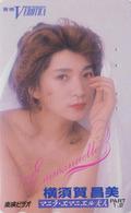 Télécarte Japon / 110-011 - CINEMA EROTIQUE FRANCE - EMMANUELLE ** SYLVIA KRISTEL - EROTIC Movie Japan Phonecard E 10243 - Cinema