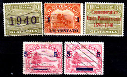 Guatemala-0115 - Emissione 1940-1941 (+/o) LH/Used - - Guatemala