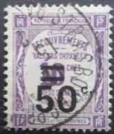 FRANCE Taxe N°51 Oblitéré - 1859-1955 Used