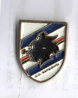 Sampdoria Calcio Genova Samp Doria Distintivi FootBall Soccer Pins Spilla - Calcio