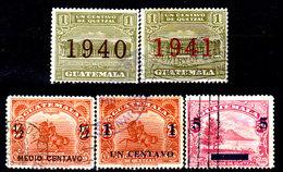 Guatemala-0116 - Emissione 1940-1941 (o) Used - - Guatemala
