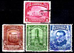 Guatemala-0117 - Emissione 1942-1943 (o) Used - - Guatemala