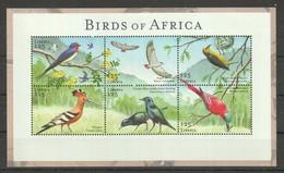E773 LIBERIA FAUNA BIRDS OF AFRICA 1KB MNH - Vögel