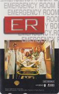 Télécarte Japon / 110-016 - CINEMA -  EMERGENCY ROOM - MOVIE Japan Phonecard - NFS  - E 10248 - Cinema