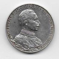 REICH - 2 MARK ARGENT 1913 - [ 2] 1871-1918 : Imperio Alemán