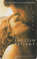 RARE Télécarte Japon / 110-016 - CINEMA -  THE ENGLISH PATIENT - MOVIE Japan Phonecard - E 10249 - Cinema