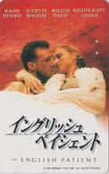 Télécarte Japon / 110-016 - CINEMA -  THE ENGLISH PATIENT - MOVIE Japan Phonecard - E 10250 - Cinema