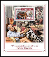 MOZAMBIQUE 2018 MNH** Pablo Picasso Painter Maler Peintre S/S - OFFICIAL ISSUE - DH1819 - Picasso