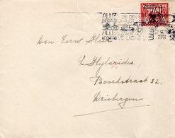 12.X.1941 Brief Leeuwarden Station Naar Driebergen - Period 1891-1948 (Wilhelmina)