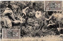 CPA Tahiti ? Océanie Océania Polynésie Timbrée Non Circulé Source D'eau Minérale - French Polynesia