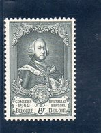 BELGIEN 1952 ** - Belgio
